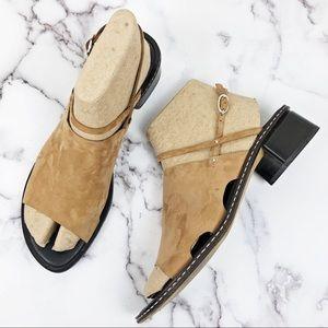 DONALD J PLINER✨Aeron Leather Sandals 10